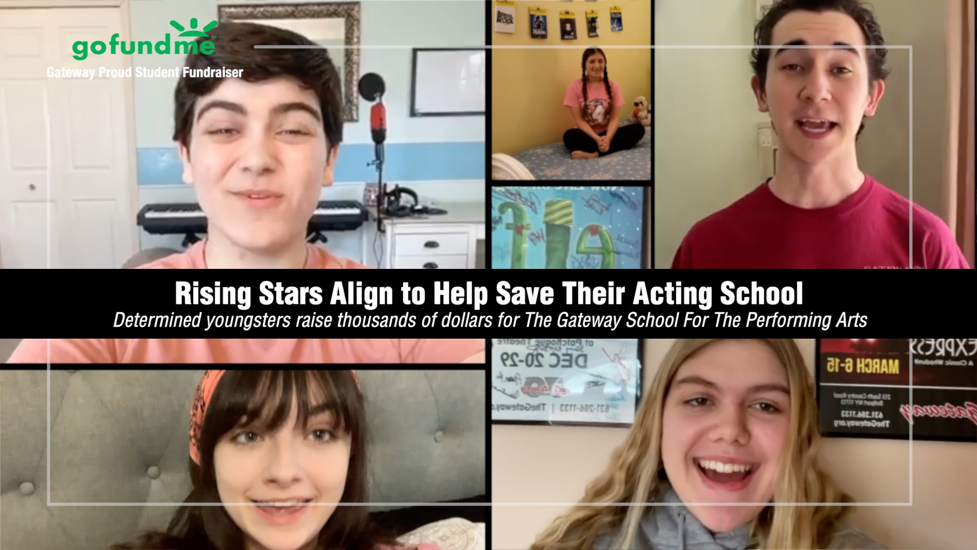 Rising Stars Align to Help Save The Gateway School for the Performing Arts
