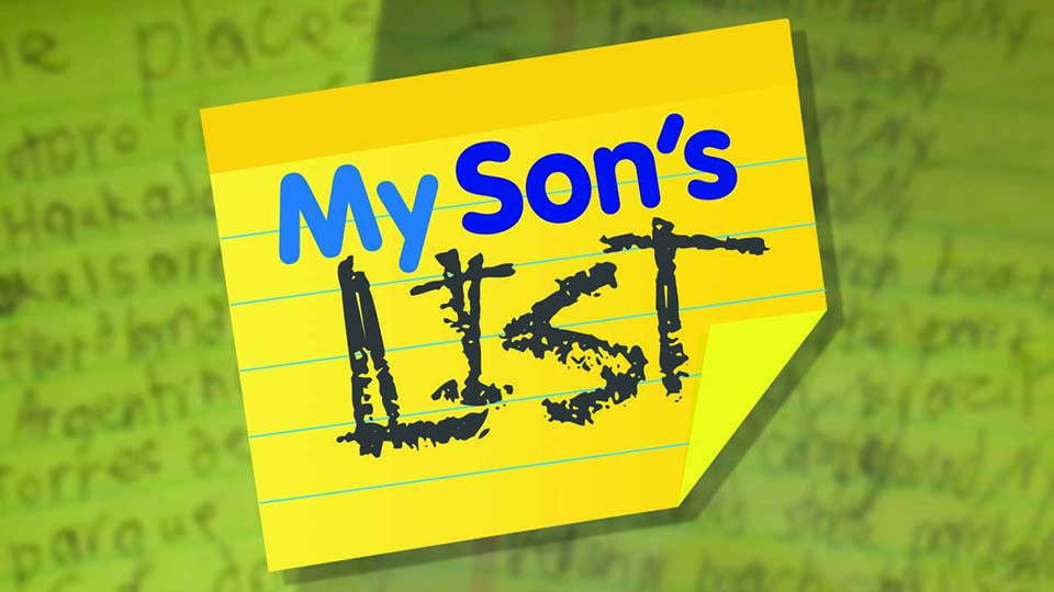 My Son's List Family Travel Website